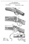 John Browning Winchester Model 1885 US Patent 220271