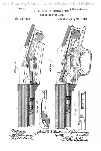 367336 John Browning US Patent Drawing 3