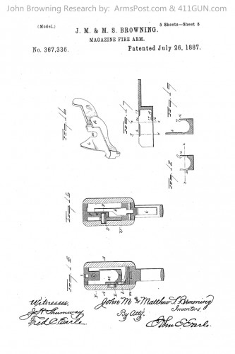 367336 John Browning US Patent Drawing 5