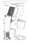 John Browning Winchester Model 1892 US Patent 465339 Drawing 1
