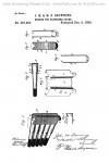 John Browning US Patent 487660