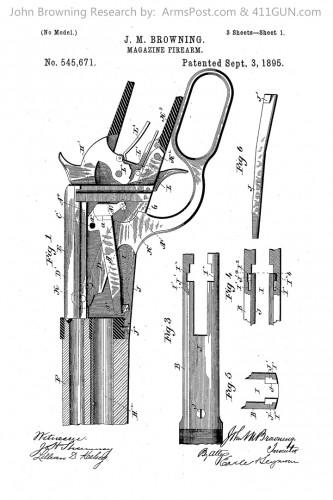 John Browning US Patent 545671