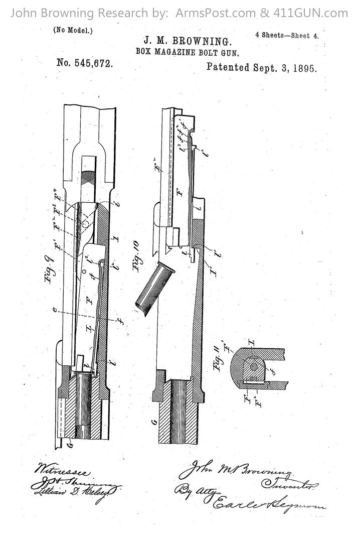 John Browning US Patent 545672