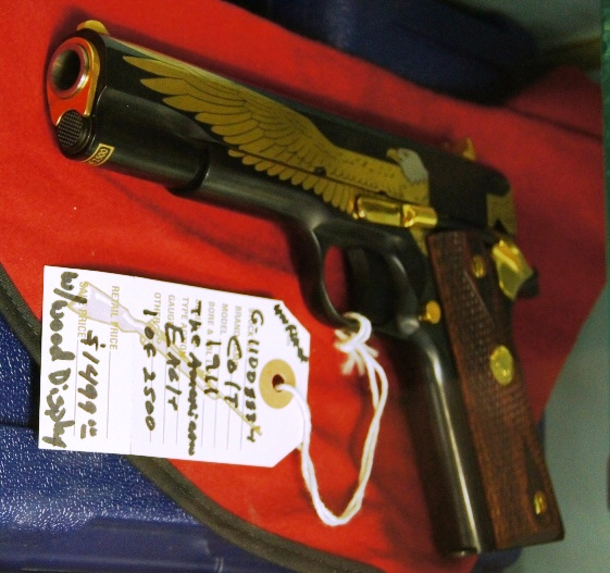Colt 1911 The American Eagle