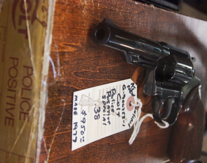 Colt Police Positive Special 38spl made 1977