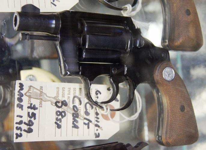 Colt Cobra 38spl made 1952