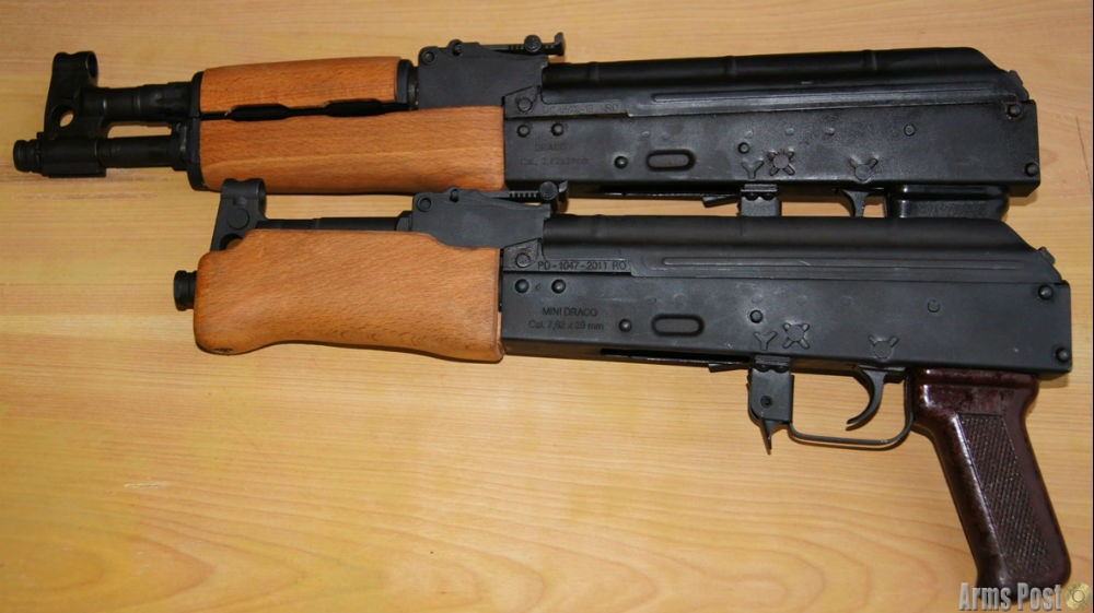 AK47 Rifle Pistol and Mini 20