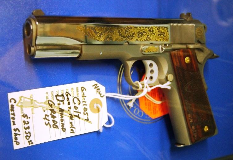 Colt 1911 Govt Model Diamond Grade
