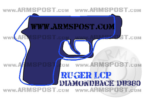 Diamondback DB380 vs Ruger LCP 380 ACP Pistol Comparison Triggers Aligned