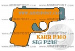 Kahr P380 vs Sig P238 Size Comparison