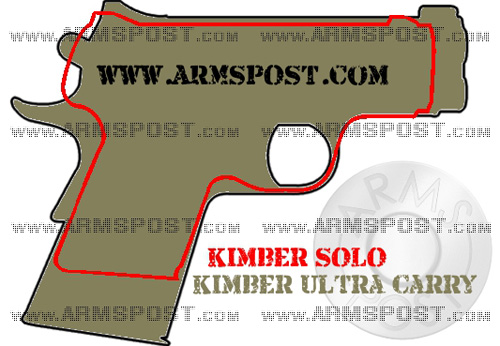 Kimber Ultra Carry vs Kimber Solo CCW Pistol Size Comparison