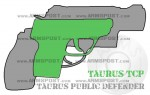 Taurus Judge Public Defender Revolver vs TCP 380 Pistol