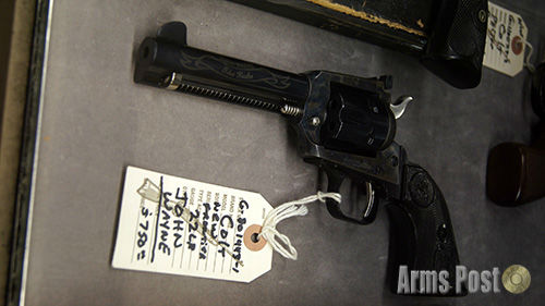 Colt Frontier 22 LR John Wayne The Duke Revolver