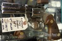 Colt Python 357 4 inch Nickle
