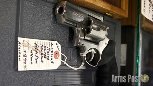 Ruger Super Redhawk Alaskan .44 MAG Revolver