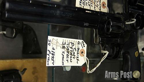 Colt Python Target 38 Special