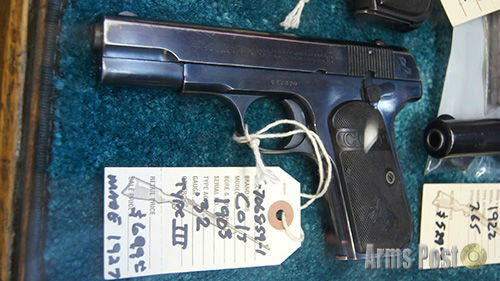 Colt Model 1903 .32 cal pistol type III made in 1927