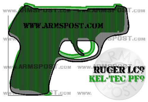 Ruger LC9 vs Kel Tec PF9 9mm Pistol Comparison