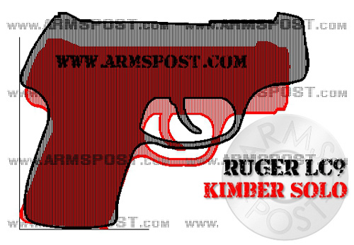 Ruger LC9 vs Kimber Solo 9mm Pistol Comparison