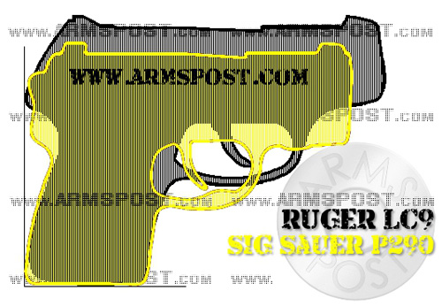 Ruger LC9 vs Sig Sauer P290 9mm Pistol Comparison