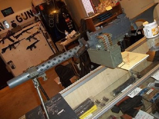 Browning M 1919 .308 Belt Fed Rifle A6, With Ammo Can & 1000 Links