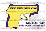 Smith & Wesson Bodyguard 380 vs Kel-Tec P-3AT Pistol Comparison