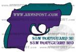 Smith & Wesson Bodyguard .380 ACP Pistol vs .38 Revolver