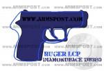 Diamondback DB380 vs Ruger LCP 380 ACP Pistol Comparison Triggers Aligned