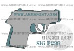 Ruger LCP vs Sig P238 Size Comparison