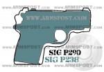Sig P290 vs Sig P238 Size Comparison