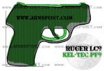 Ruger LC9 vs Kel Tec PF9 9mm Pistol Comparison